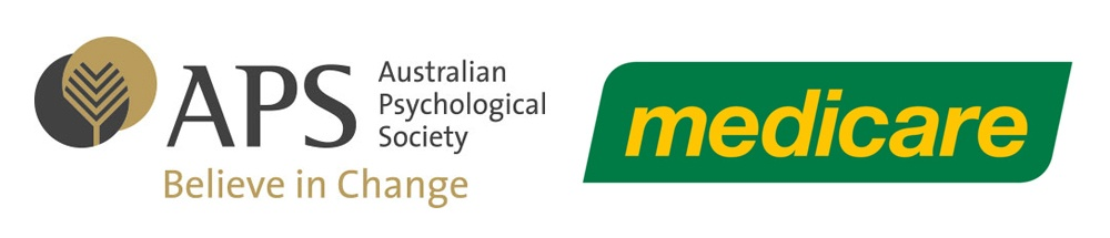 Australian Psychology Society and Medicare Logo